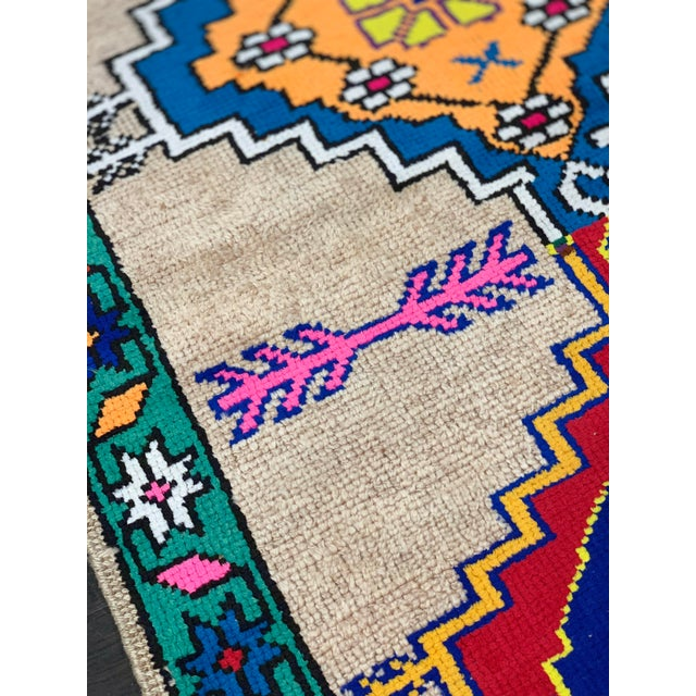 Textile Contemporary Oushak Runner Rug - 2′11″ × 10′5″ For Sale - Image 7 of 13