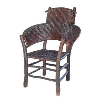 Old Hickory Armchair For Sale