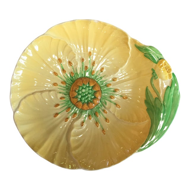 Buttercup Carlton Ware Ceramic Plate For Sale