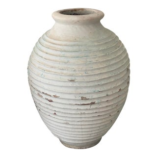Antique Greek Terracotta Jar For Sale