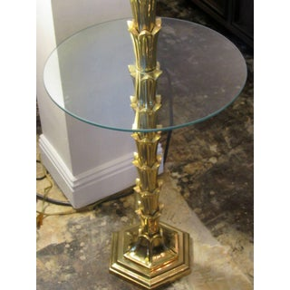 Mid-Century Modern Solid Brass Palm Tree Floor Lamp Circa 1960s Preview