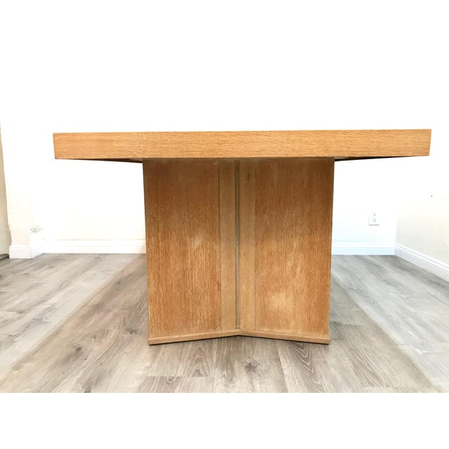 1950s Mid Century Modern Paul Frankl Style Dining Table For Sale - Image 5 of 12