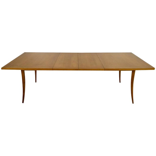 Harvey Probber Saber Leg Table in Bleached Mahogany - Image 1 of 10