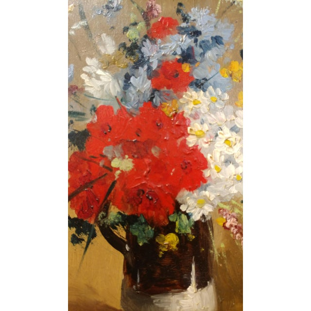 Exquisite Beautiful Flower Bouquet -19th century Still life oil ...