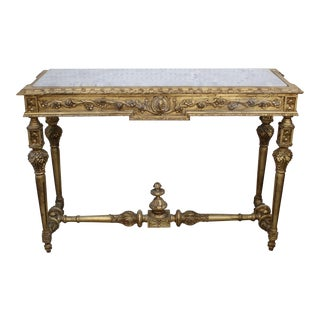 19th Century GIltwood Louis XVI Console