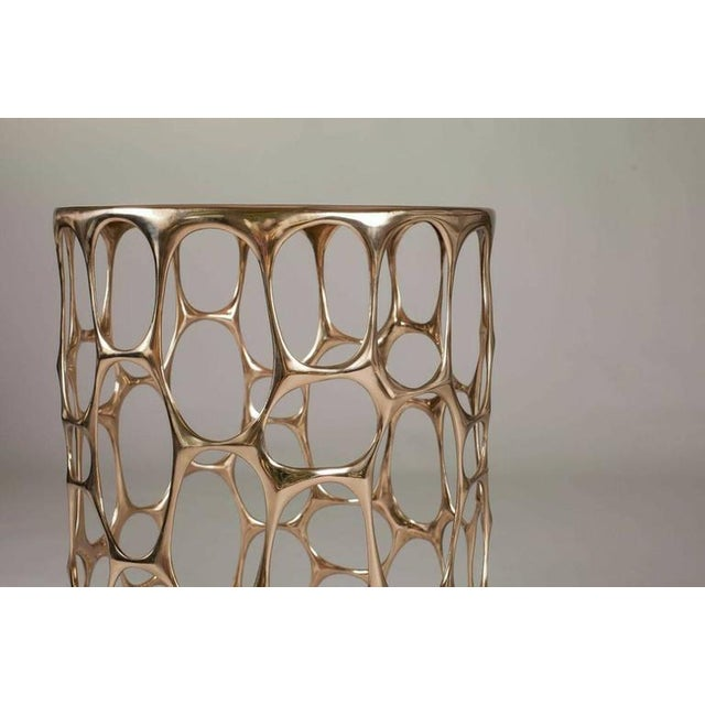 """""""Homage to Gaudi"""" Side Table by Nick King - Image 3 of 5"""