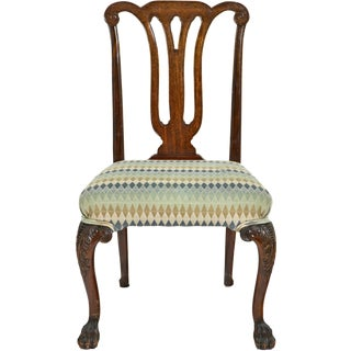 Mid 19th Century Chippendale Style Side Chairs - Set of 4 For Sale