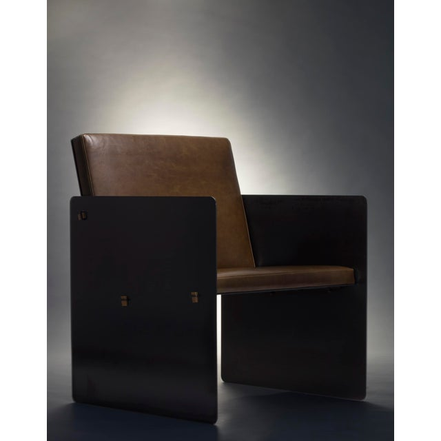 Constructed from bold steel plates and secured by bronze wedges, the Plate Chair is built to last. Resolute and refined,...