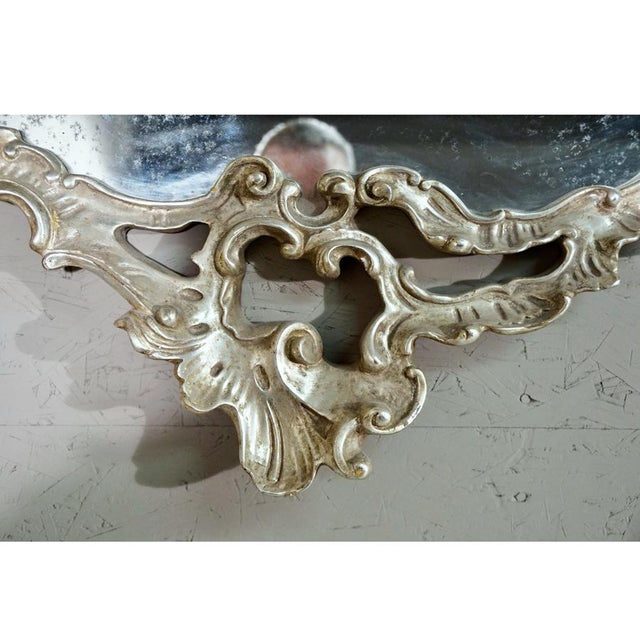 Hand Carved Gilt Mirror - Image 4 of 6
