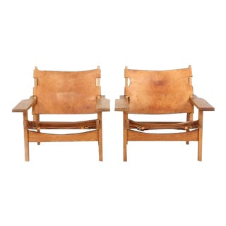 KURT ØSTERVIG Hunting Chairs ca. 1960 For Sale
