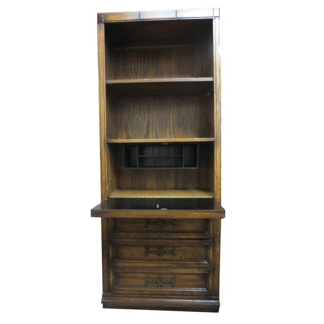 Drop Front Desk With Additional Storage - Image 4 of 7