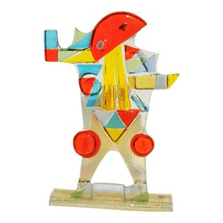 Murano Glass Sculpture For Sale