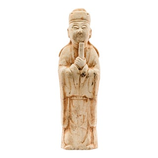 13th Century Yuan Dynasty Pottery Figure For Sale