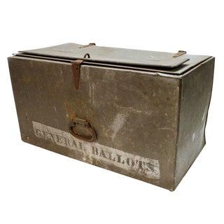 Metal Ballot Box