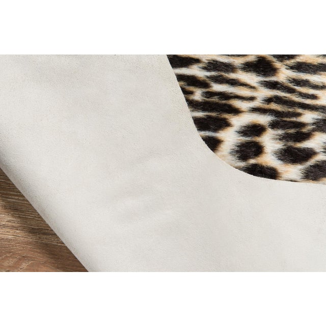 """Not Yet Made - Made To Order Erin Gates by Momeni Acadia Cheetah Multi Faux Hide Area Rug - 5'3"""" X 7'10"""" For Sale - Image 5 of 8"""