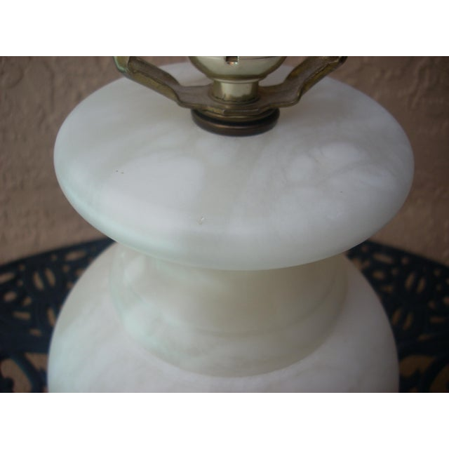 Alabaster Table Lamp - Image 4 of 5