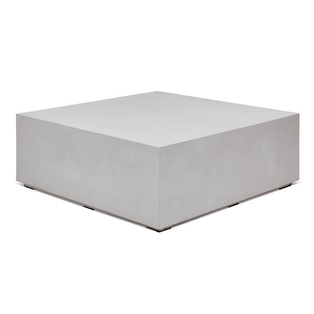 Contemporary Samuel Coffee Table - Ivory For Sale - Image 3 of 5