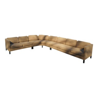 Vintage Modern Three-Piece Sectional Sofa by Dunbar For Sale
