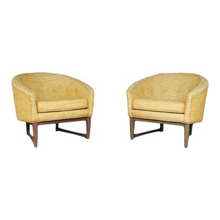 Lawrence Peabody Club Chairs - a Pair For Sale