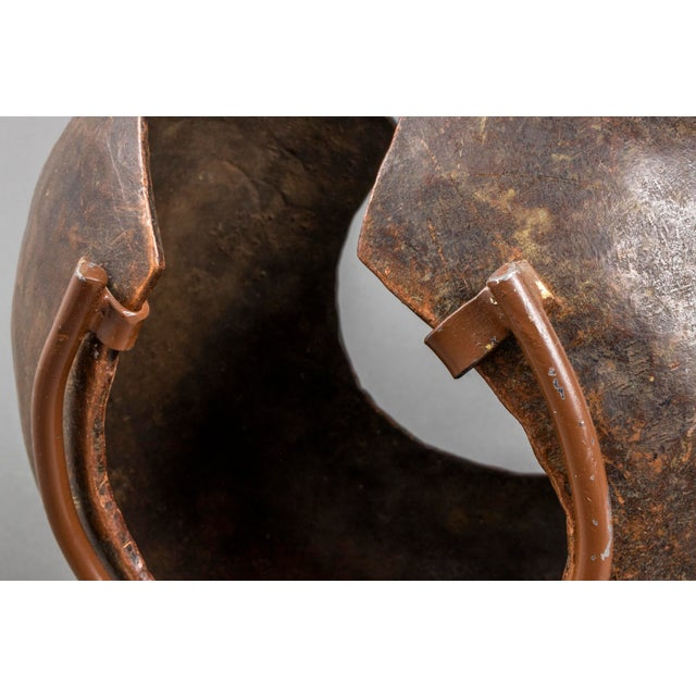 African Mbole Copper Currency Anklet Ring For Sale In New York - Image 6 of 10