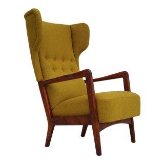 Danish Design by Fritz Hansen, Completely Reupholstered, 60s For Sale