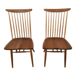 """1950s Vintage George Nakashima """"New Chairs""""- A Pair For Sale"""