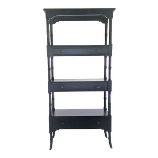 Stanley Furniture Coastal Living Retreat Etagere Display Bookcase Shelving For Sale