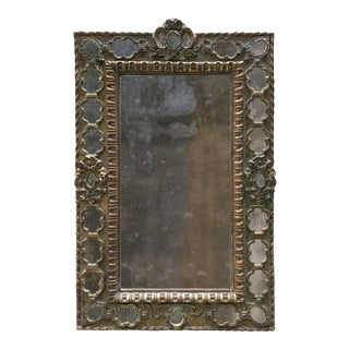 19th Century Ornate Wall Mirror, Spain. For Sale