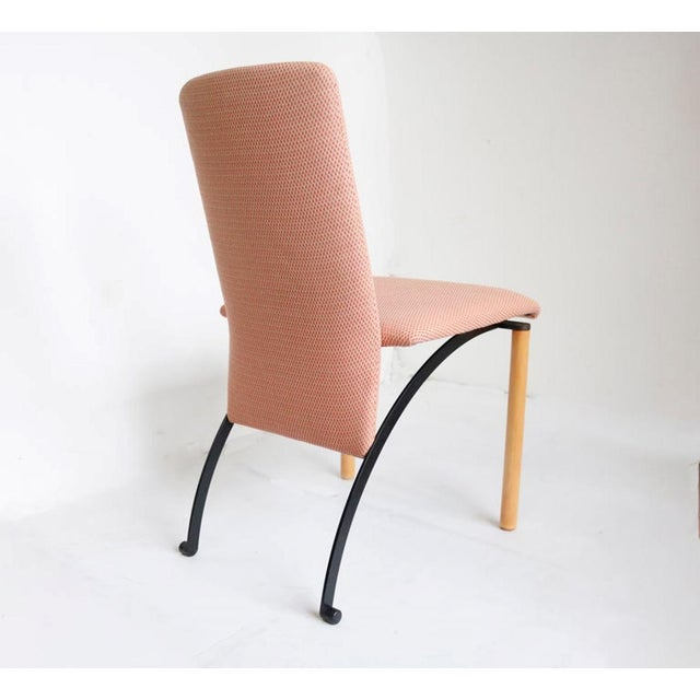 Modern Set of 8 Dining Chairs by Castelijn For Sale - Image 3 of 7