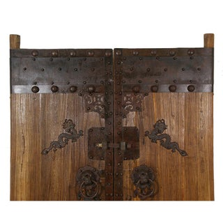 Chinese Antique Massive Court Yard Doors-A Pair Preview