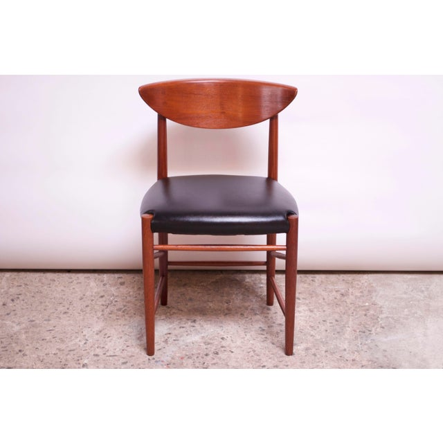 Wood Teak Dining Chairs by Peter Hvidt and Orla Mølgaard Nielsen - Set of 8 For Sale - Image 7 of 13