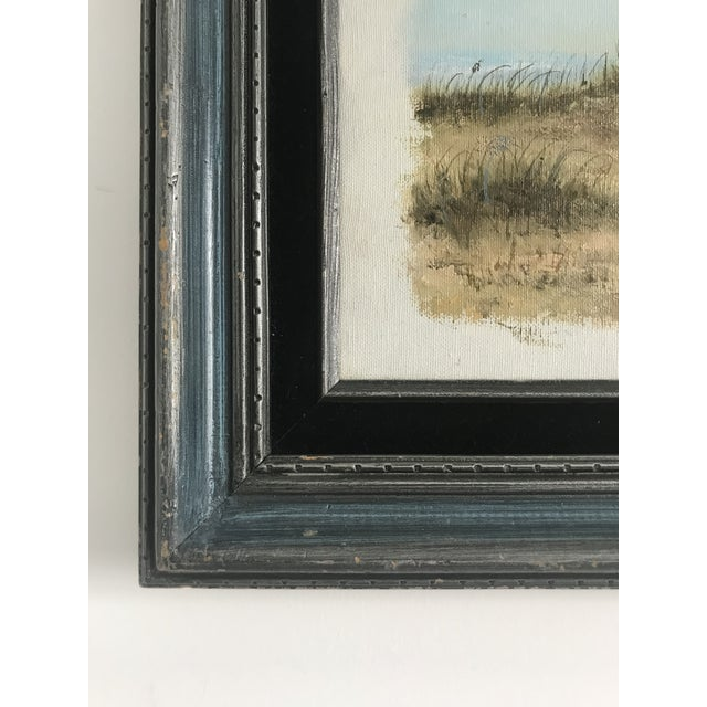 Vintage Dunes on the Cape Oil Painting For Sale In Los Angeles - Image 6 of 10