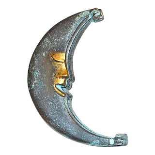 Man in the Moon Bronze Door Knocker