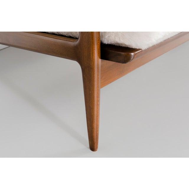 Ib Kofod-Larsen for Selig Teak Wood Sofa For Sale - Image 11 of 13