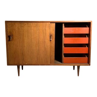 Glenn of California Vintage Sideboard Cabinet by Stanley Young For Sale