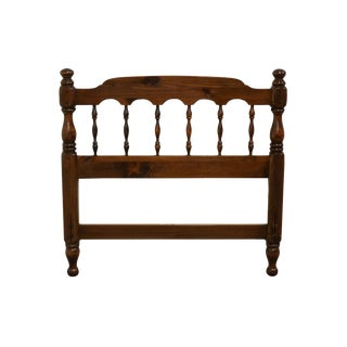 Ethan Allen Antiqued Pine Old Tavern Twin Headboard For Sale