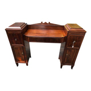 19th Century Regency Mahogany Writing Desk For Sale