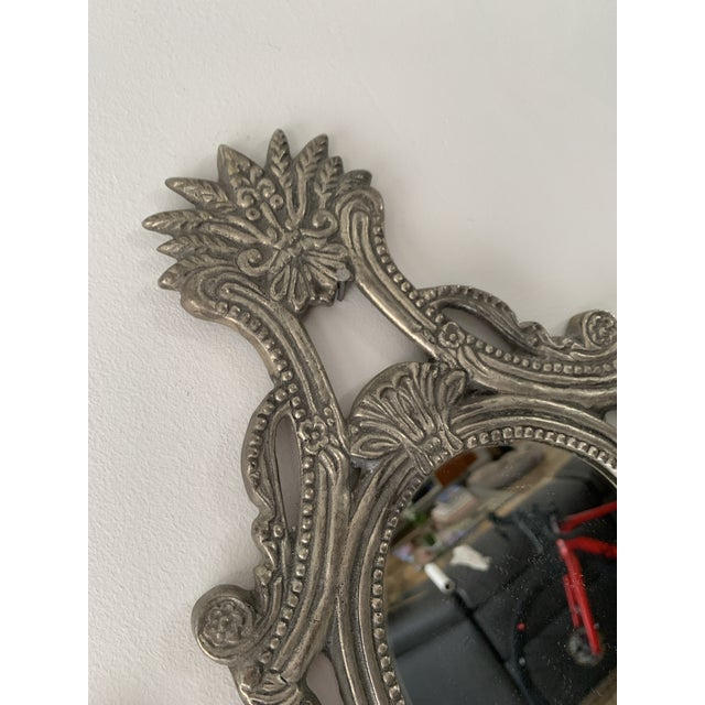 Late 20th Century Mirrored Candle Wall Sconces - a Pair For Sale - Image 5 of 8