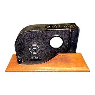Vintage 1962 16mm Eclair Npr Cinema Camera Early 400′ Film Desk Sculpture For Sale