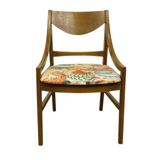 Mid Century Modern Stanley Furniture Dining Side Chair For Sale