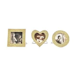 Three Mini Diamond Photo Frames by Milano Series