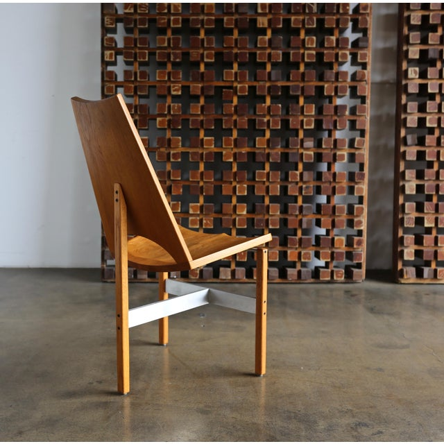 Mid-Century Modern Leon Meyer Studio Occasional Chair, Circa 1977 For Sale - Image 3 of 10