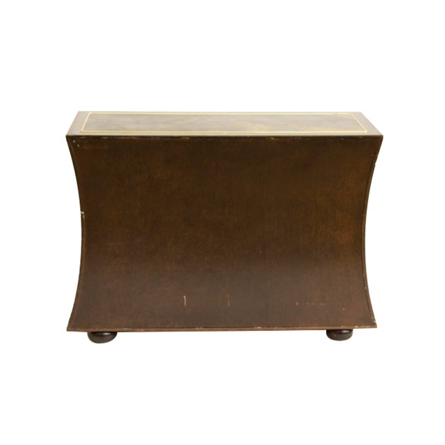Chest Dresser in Acid-Etched Brass by Bernhard Rohne for Mastercraft For Sale - Image 12 of 13