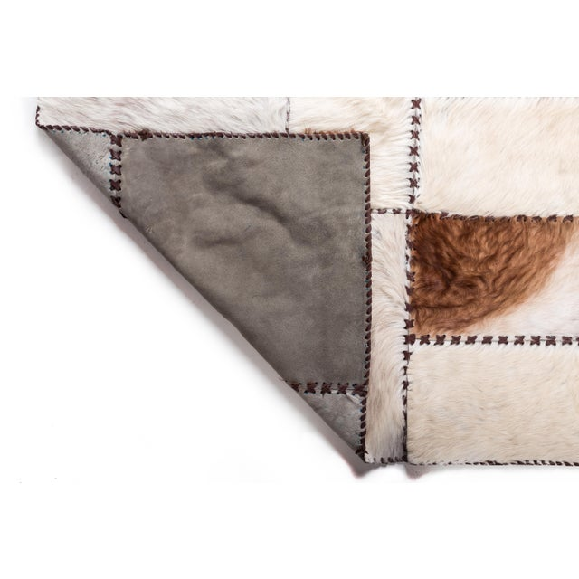 """Aydin Cowhide Patchwork Accent Area Rug - 6'0"""" x 6'7"""" - Image 7 of 9"""