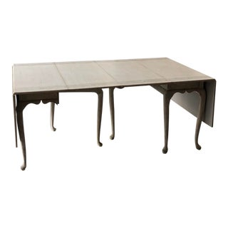 Chintamani Motif Drop Leaf Dining Table For Sale