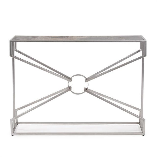 Brown Kenneth Ludwig Chicago Maison Console Table For Sale - Image 8 of 8