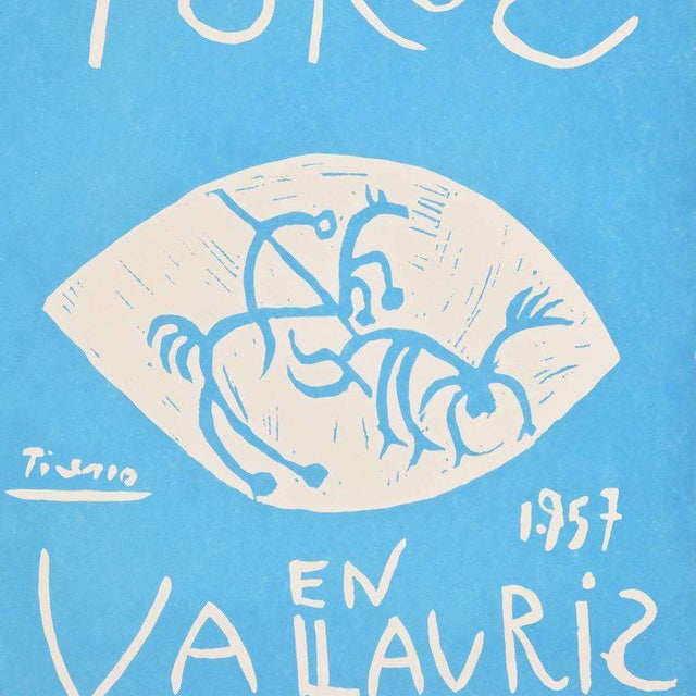 Pablo Picasso Picasso Linocut Toros Vallauris 1957 Signed Arnera 38/200 For Sale - Image 4 of 8
