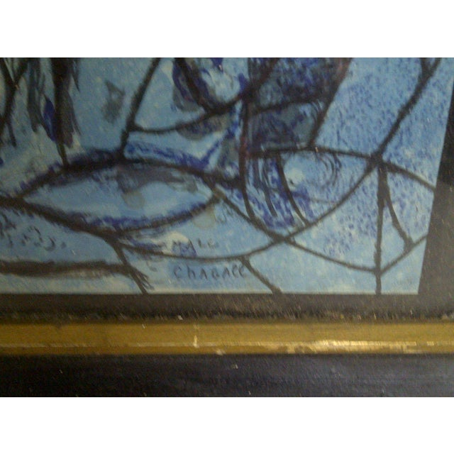 Marc Chagall Stain Glass Window Hadassah University Print For Sale - Image 4 of 7