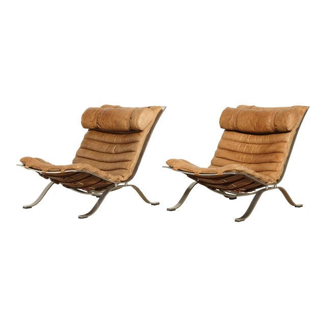 1970s Vintage Arne Norell Ari Chairs- A Pair For Sale