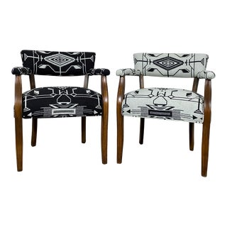 Vintage Set of Mid Century Chairs- a Pair For Sale